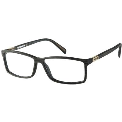 WEWOOD 義大利平光眼鏡 ROMA IROKO 綠柄桑木色