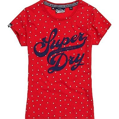 SUPERDRY 極度乾燥 女 T恤 紅色 0724