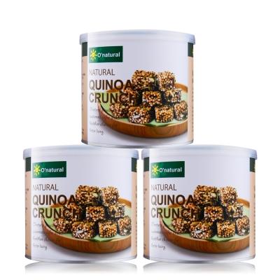 O-natural歐納丘 手工藜麥酥(100gx3)