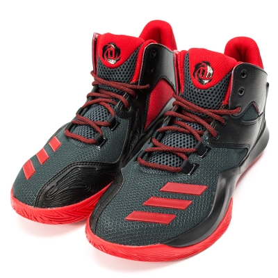 ADIDAS-ROSE 773 V男籃球鞋-黑紅