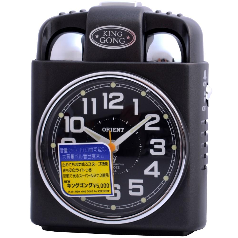 ORIENT 日本東方賴床終結者超大聲鬧鐘-黑色