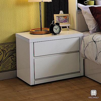 漢妮Hampton溫斯敦系列床頭櫃-52x40x46cm