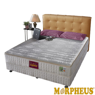 夢菲思 三線蓆面+布面冬夏兩用硬式彈簧床墊-雙人加大6尺