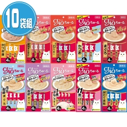 CIAO 啾嚕 日本 肉泥系列(14gX4入)X10袋組