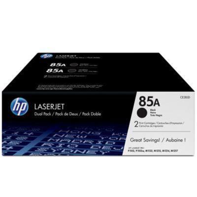 HP CE285AD 原廠黑色碳粉匣(雙包裝)