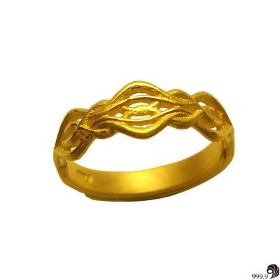 歷代風華-幸福相守黃金男戒(約1.13錢)