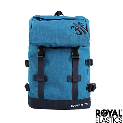 Royal Elastics - 休閒大容量後背包 - Festival山林搖滾系列 - 靛藍