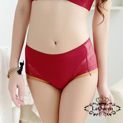 內褲  簡約典雅膠原蛋白小褲-紅 La Queen