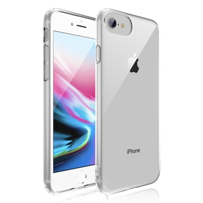 JTLEGEND iPhone 8 超彈力TPU保護殼-透明