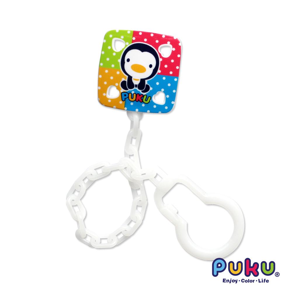 PUKU彩虹糖奶嘴鍊-白色