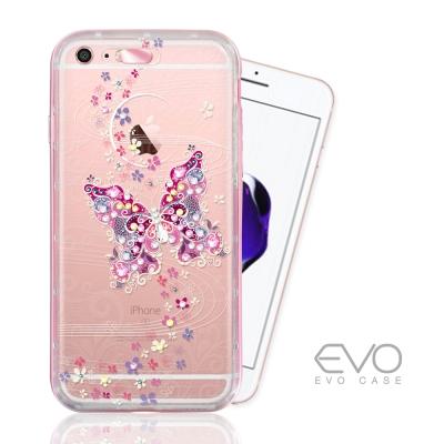 EVO CASE  iphone 6s plus 奧地利水晶彩繪雙料防摔手機鑽殼...