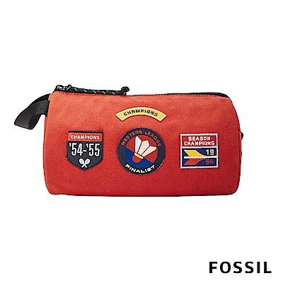 FOSSIL TRAVEL 旅行小物包-橘色
