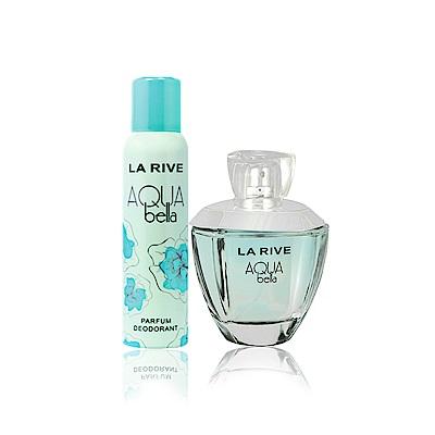 La Rive Aqua Bella 香氛組(淡香精100ml+噴霧150ml)