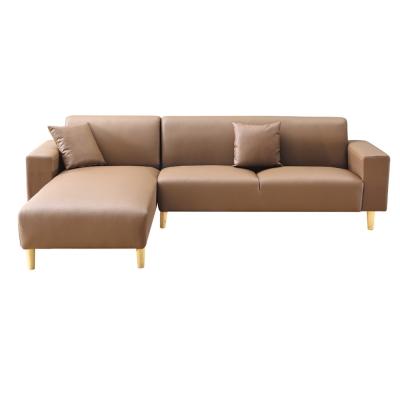 AS-北歐簡約高腳雙人L型面左沙發-267x170x80cm