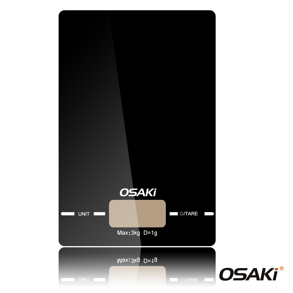 OSAKI液晶電子3kg料理秤(OS-ST603)(8H)