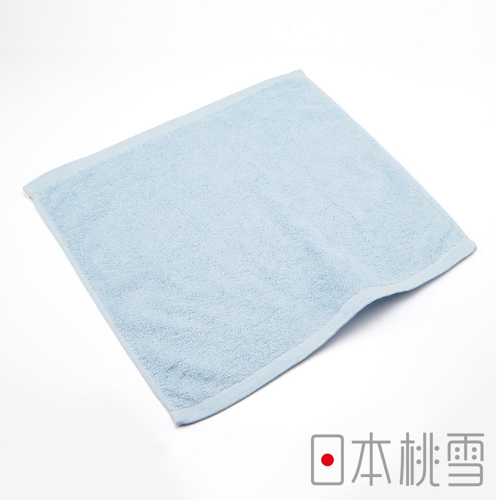 日本桃雪飯店方巾(水藍色)