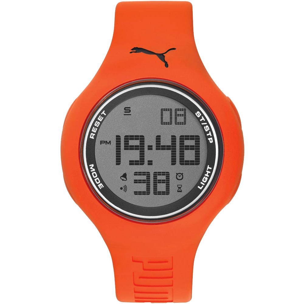 PUMA 陽光信號電子腕錶-PU910801042/45mm