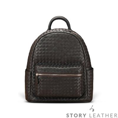 STORY皮套王 - 羊皮編織後背包 Style 6681 訂做賣場