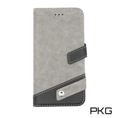 PKG Apple IPhone 7/8 PLUS 側翻式皮套-精選系列-時尚扣