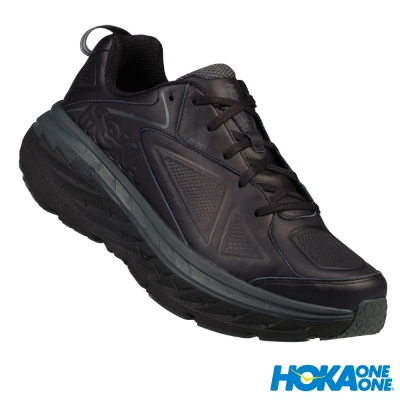 HOKA ONE ONE 走路鞋 Bondi Leather Wide 男