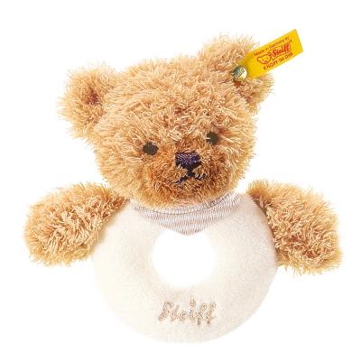 STEIFF德國金耳釦泰迪熊 - Sleep Welll Bear 泰迪熊 (北鼻手搖鈴)