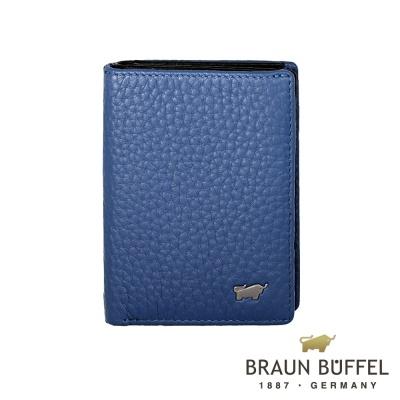 BRAUN-BUFFEL-OSLO奧斯陸系列名片夾-鳶尾藍