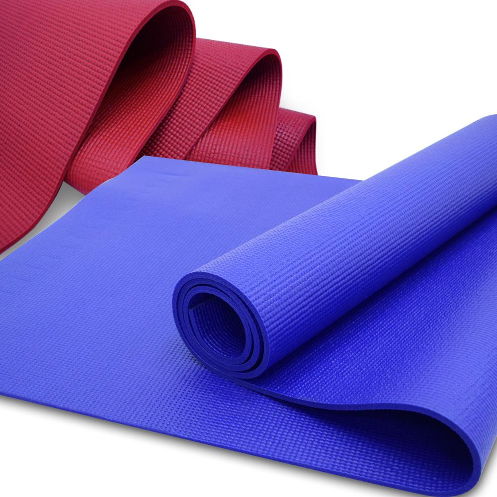 台灣製6MM PVC瑜珈墊-快速到貨