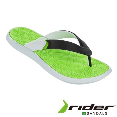 Rider 巴西 男  R1 PLUS II AD 時尚機能夾腳拖 (萊姆綠)