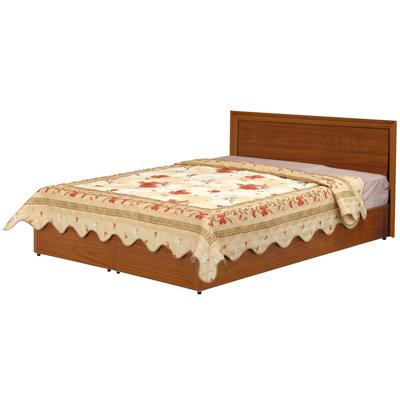 時尚屋 Terry5尺床片型後封邊雙人床(床頭片+床底)