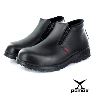 PAMAX【帕瑪斯中筒皮革製安全鞋】『男』 鋼包頭工作安全鞋.皮鞋兩用