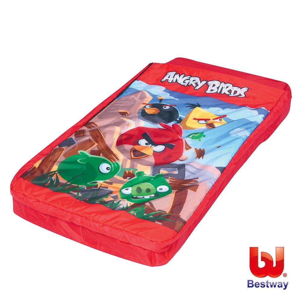 憤怒鳥兒童充氣床鋪、睡袋二合一(96114)
