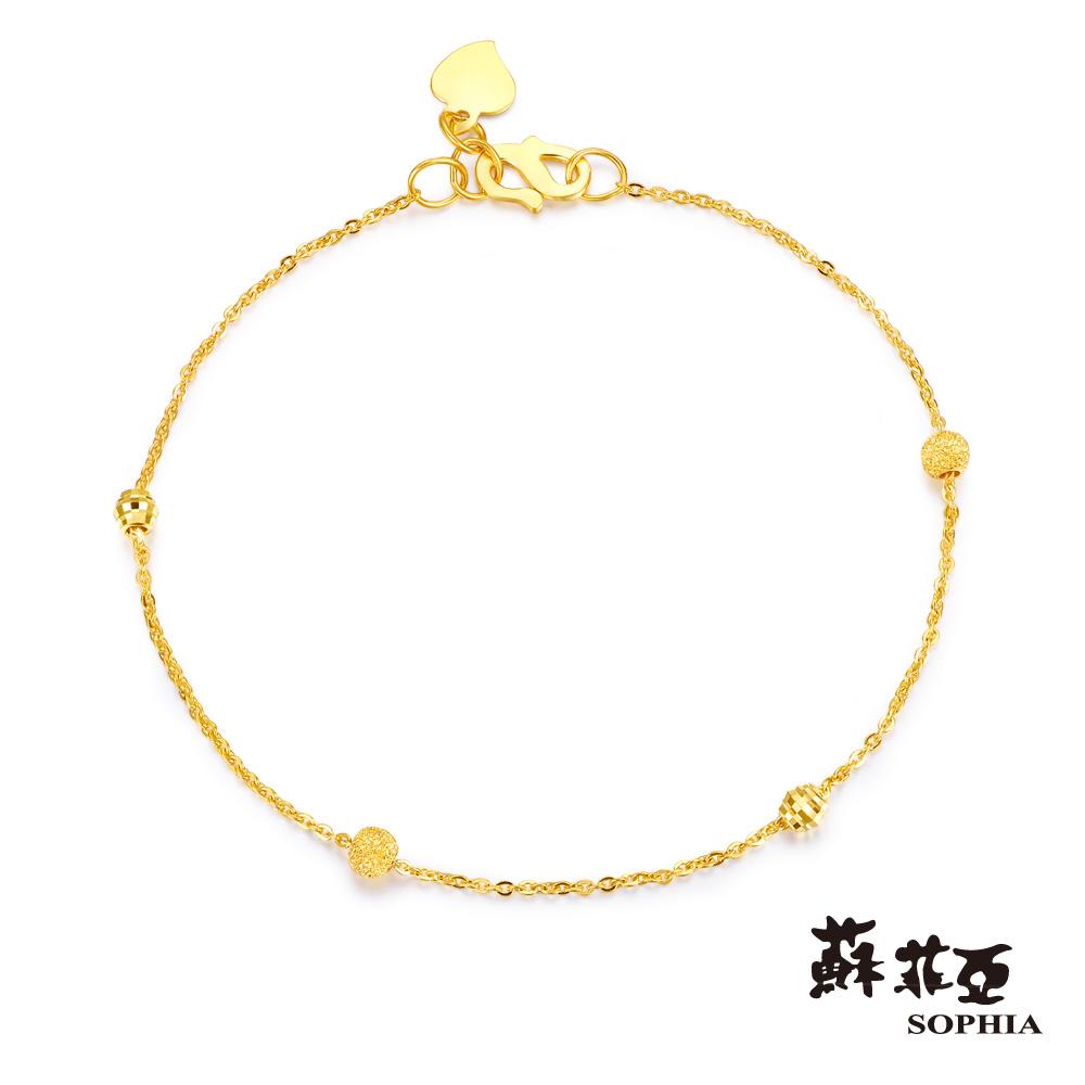 蘇菲亞SOPHIA - G LOVER系列誓約黃金手鍊