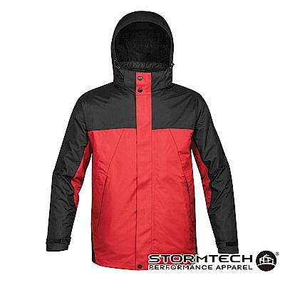 【加拿大STORMTECH】VPX-4五合一全氣候多功能抗寒兩件式外套-男-紅黑