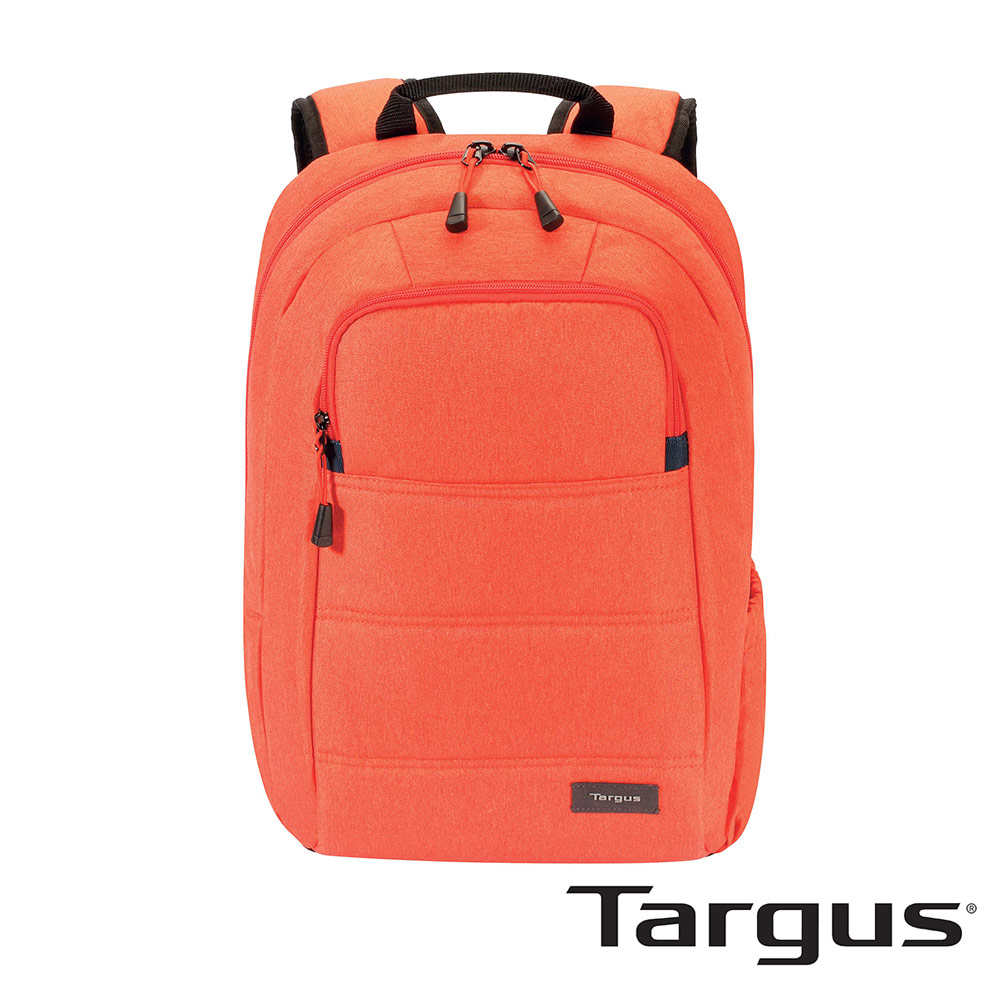 Targus Groove X Compact 15吋 躍動電腦後背包-舞動橘