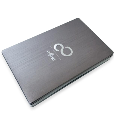 Fujitsu 2TB USB3.0 2.5吋 Ultra Slim金屬髮絲行動硬碟-鈦