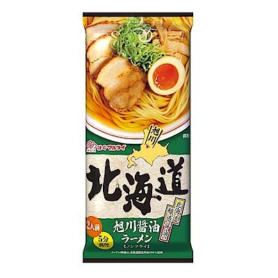丸太  北海道旭川醬油拉麵(212g)