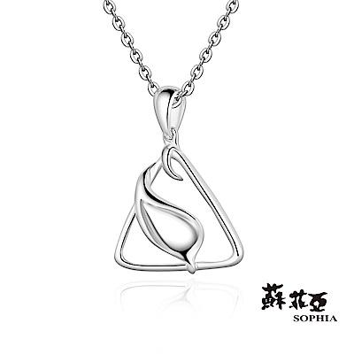 蘇菲亞SOPHIA 純銀項鍊-牽引純銀項鍊