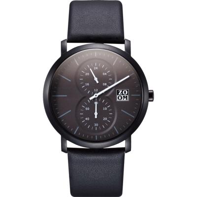ZOOM Muse 繆思系列特殊讀時腕錶-黑/43mm
