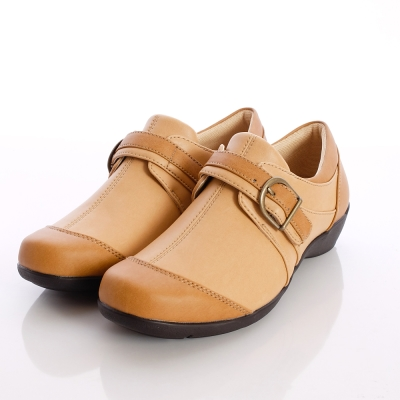 日本原裝足體機能-EVE休閒仕女機能鞋-V223CA8卡其