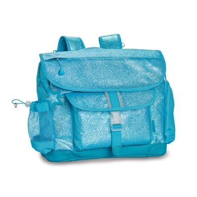 美國Bixbee - 閃采系列冰雪藍中童輕量減壓背書包