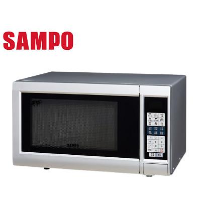 福利品 SAMPO聲寶 25公升天廚微波爐 RE-N525TM