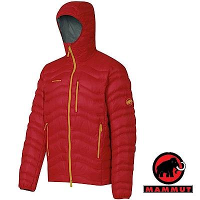 【MAMMUT 長毛象】男 Shoulder 高品質防風保暖鵝絨外套_紅