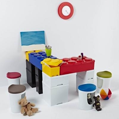 滿額任選 DOLEDO 積木整理箱/粉E效率櫃系列