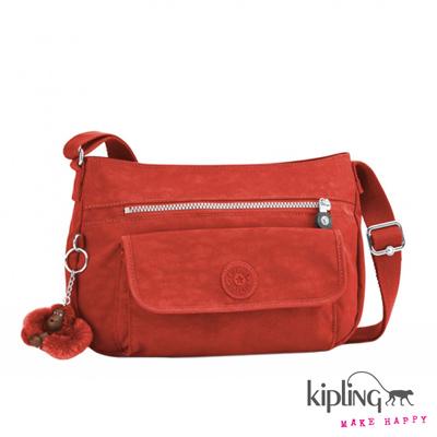 Kipling-斜背包-印度朱紅素面