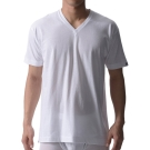 BVD 日本精紡交撚紗系列 V領短袖上衣(白色) M/L