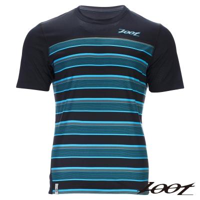 ZOOT 頂級極致型輕羽級吸排運動跑衣(男)Z1604028(城市藍)