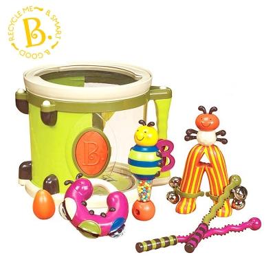 【麗嬰房】美國 B.TOYS 砰砰砰打擊樂團