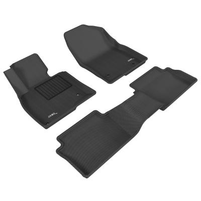 3D 神爪立體踏墊 Mazda 3 2015~2016+後座有安全帶護蓋