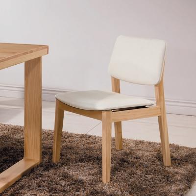 北歐風 錫德爾餐椅(兩入一組)-53x45x80cm
