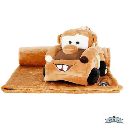 Zoobies 迪士尼Disney 脫線款 玩偶抱毯/嬰兒毯/毛毯 彌月禮盒
